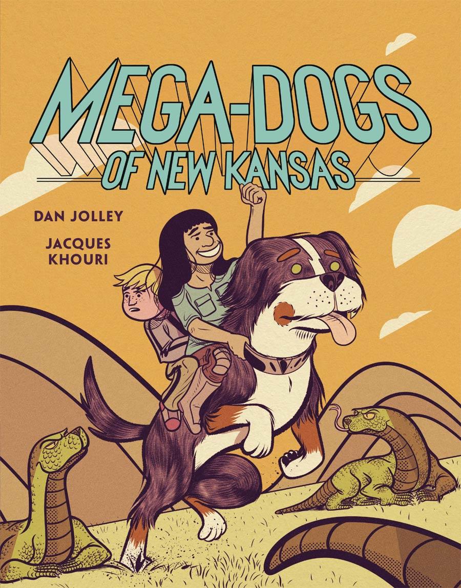 Mega Dogs Of New Kansas Vol 1 GN