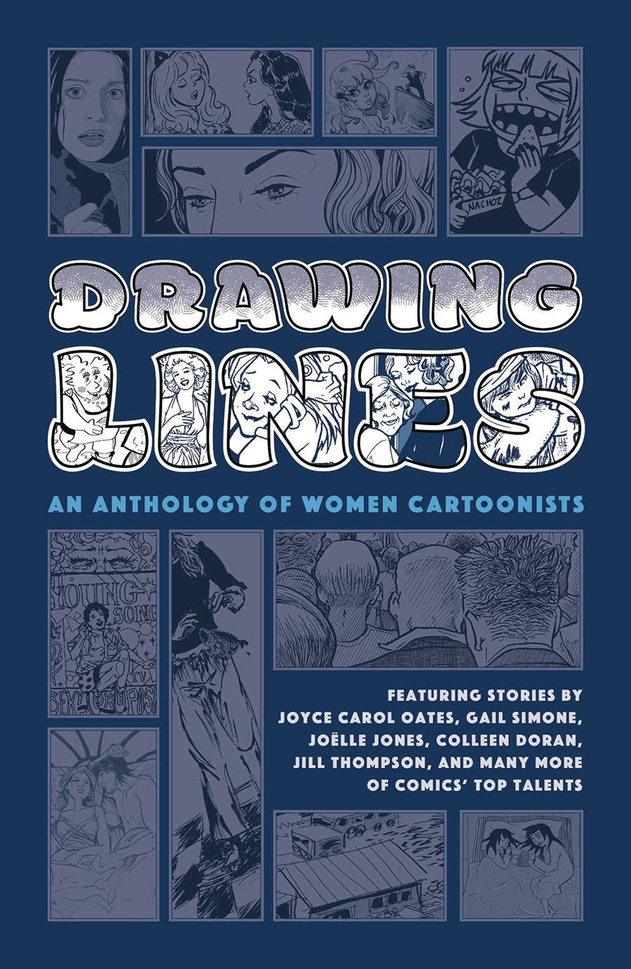 Drawing Lines An Anthology Of Women Cartoonists HC