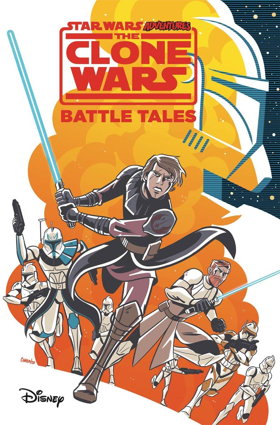 Star Wars Adventures Clone Wars Battle Tales GN