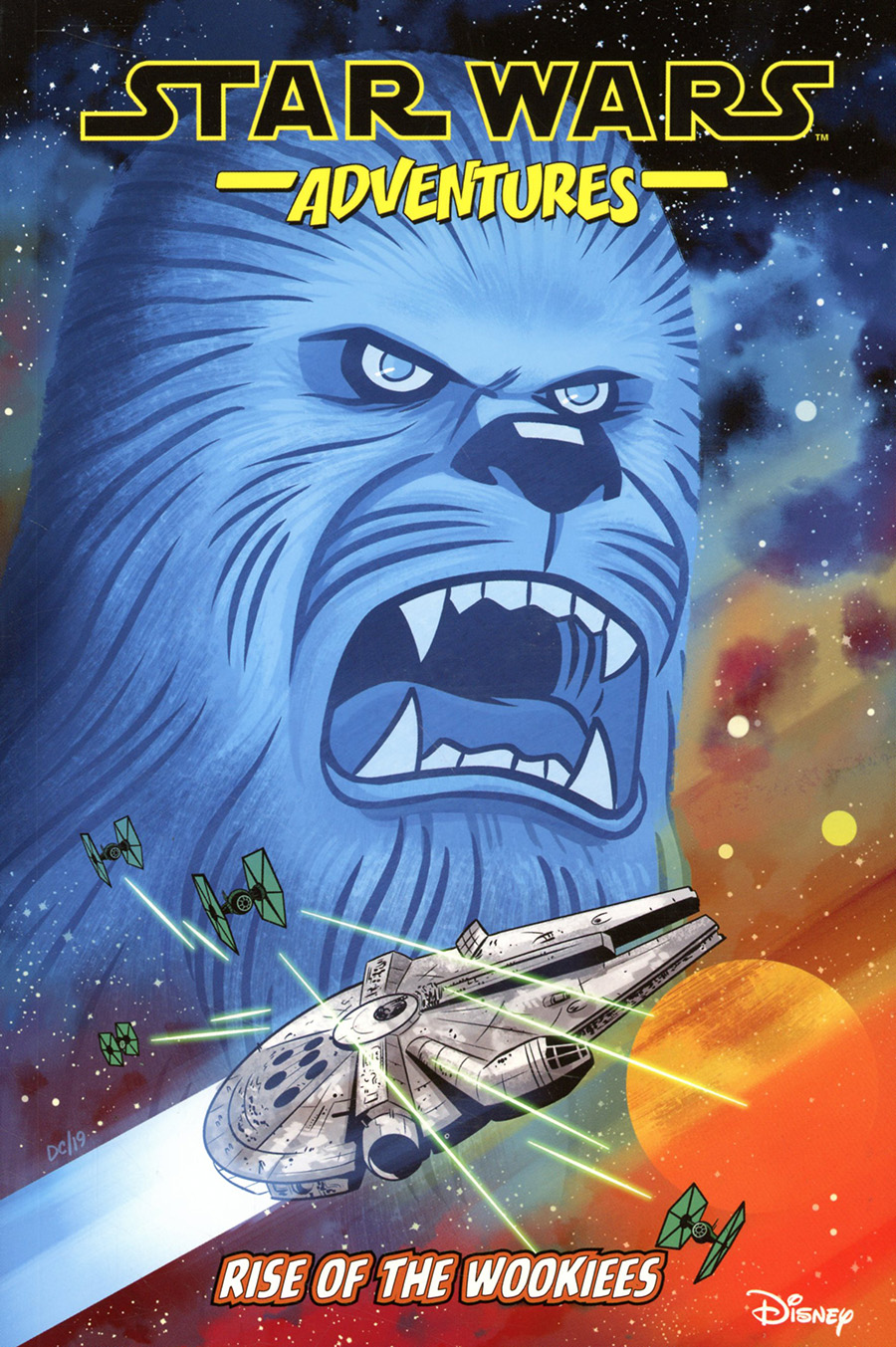 Star Wars Adventures Vol 11 Rise Of The Wookiees TP