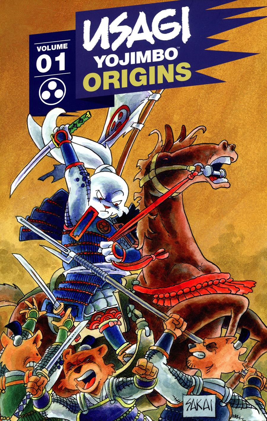 Usagi Yojimbo Origins Vol 1 Samurai TP