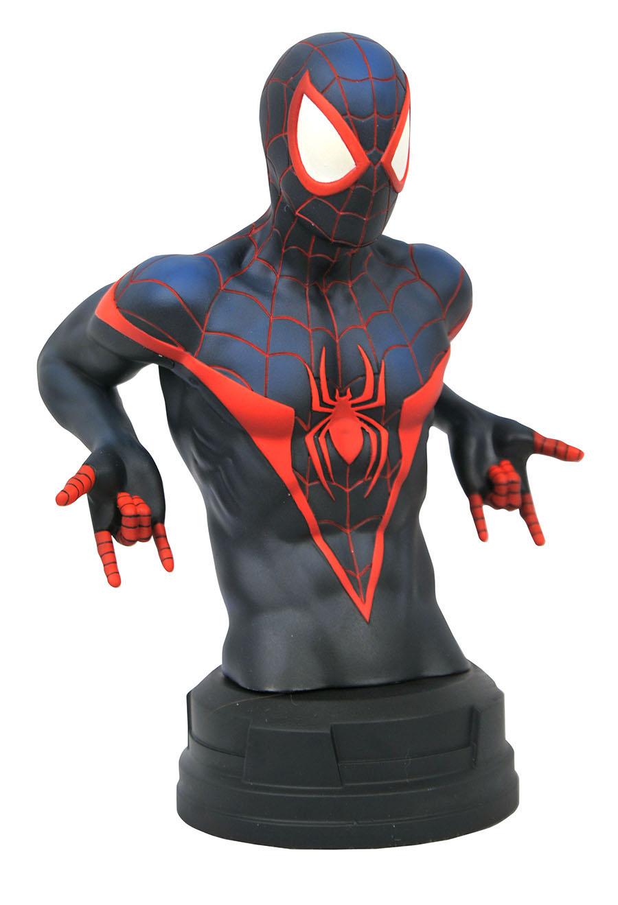 Marvel Comic Miles Morales Spider-Man Bust
