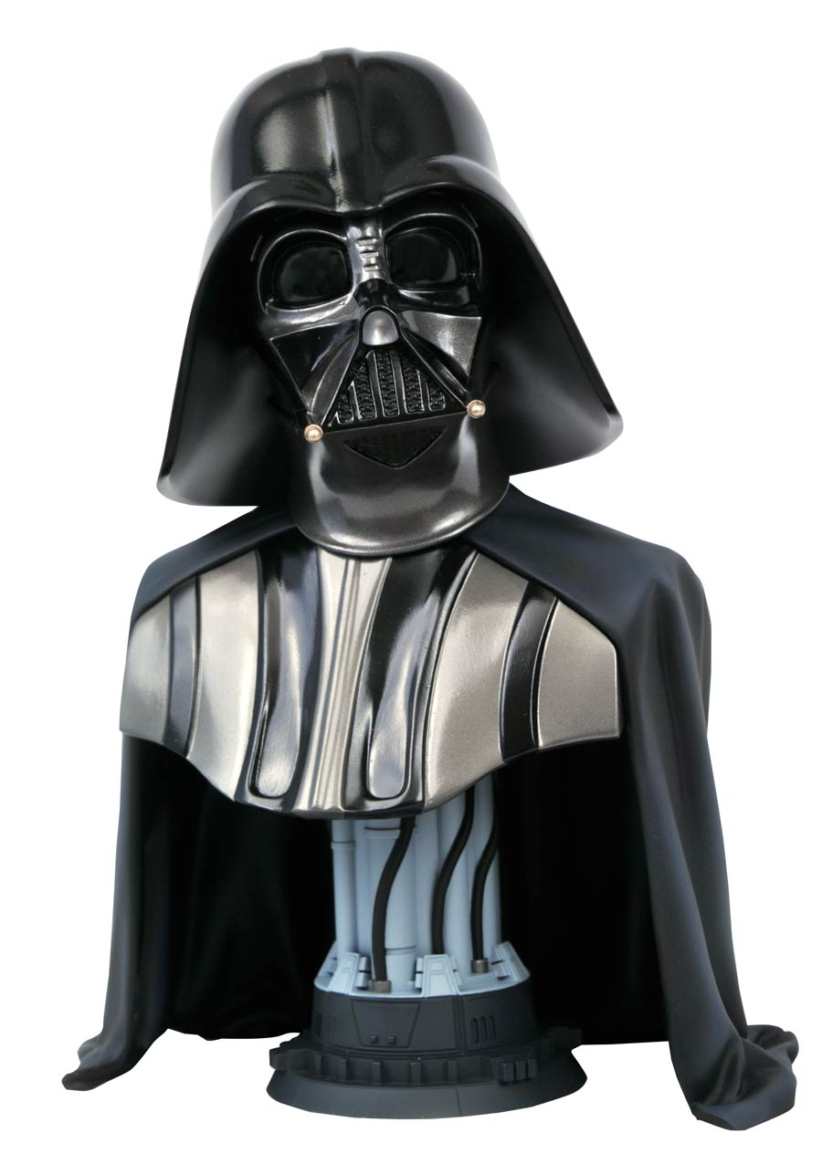 Star Wars Legends In 3D Star Wars A New Hope Darth Vader 1/2 Scale Bust