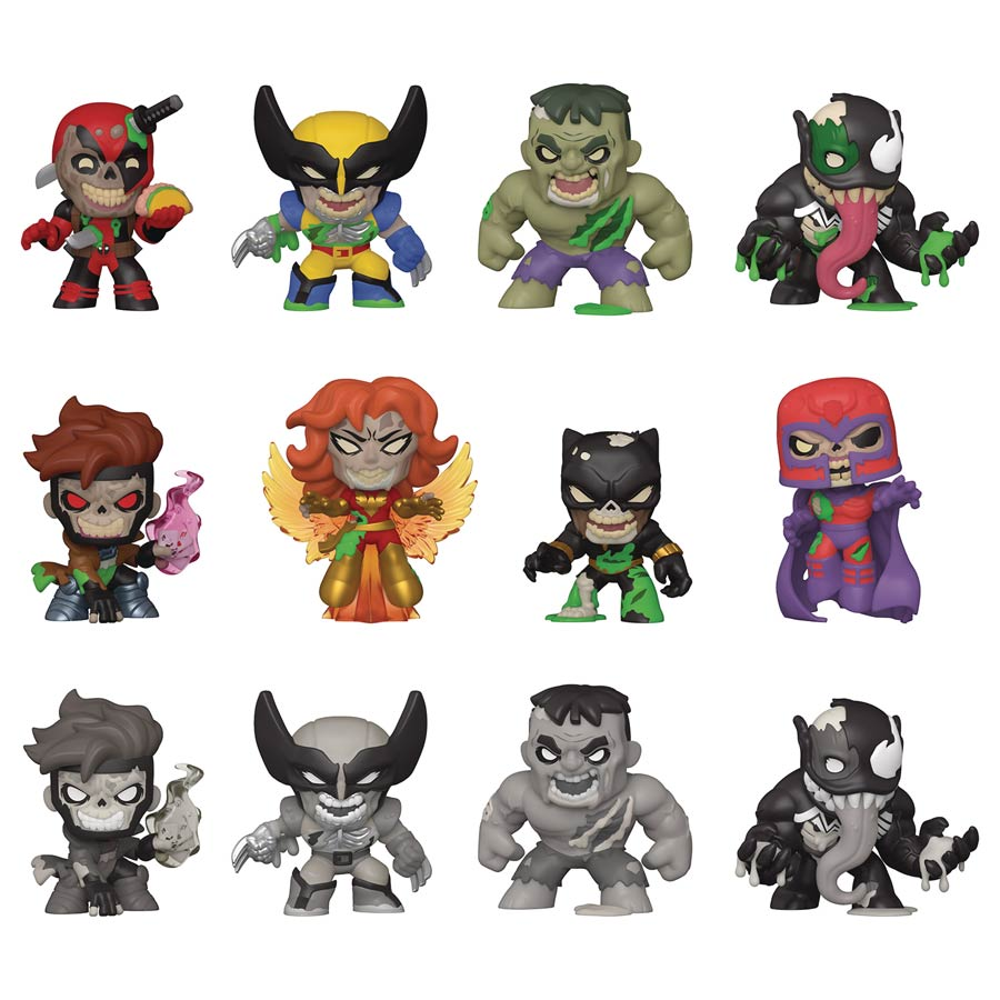 Marvel Zombies Mystery Minis Blind Mystery Box