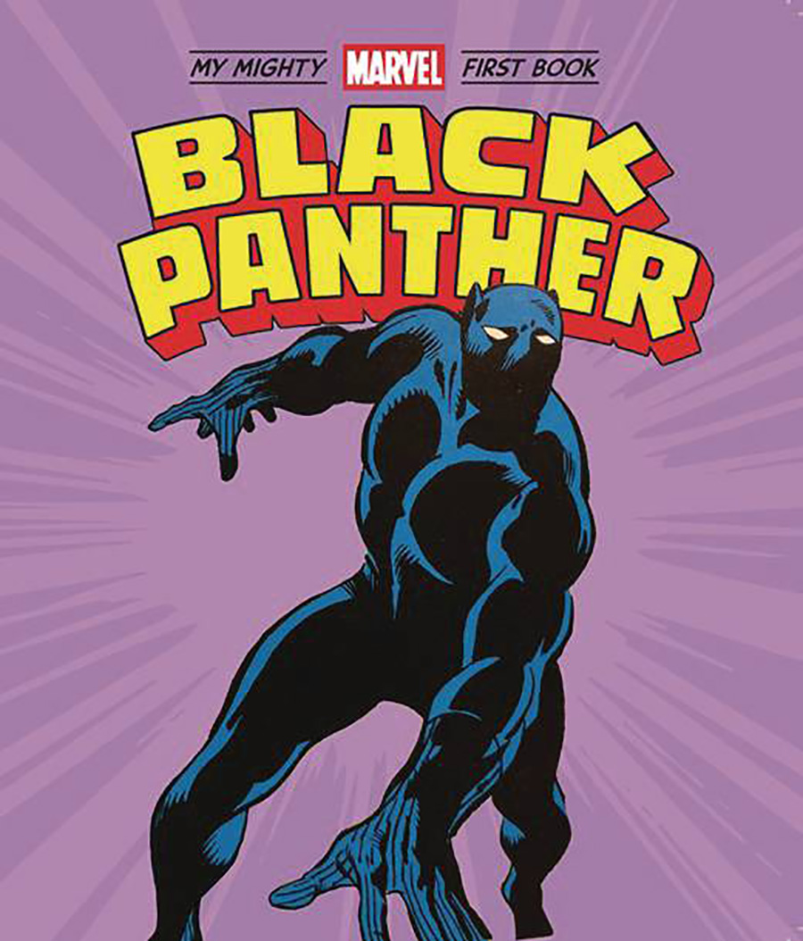 My Mighty Marvel First Book Black Panther Board Book HC