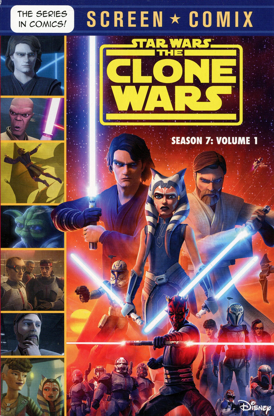 Star Wars Clone Wars Season 7 Screen Comix Vol 1 TP