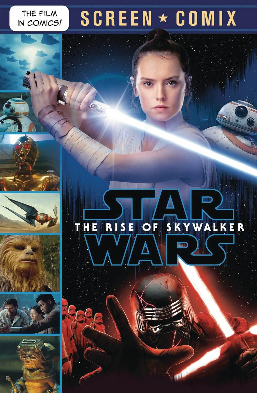 Star Wars Rise Of Skywalker Screen Comix TP