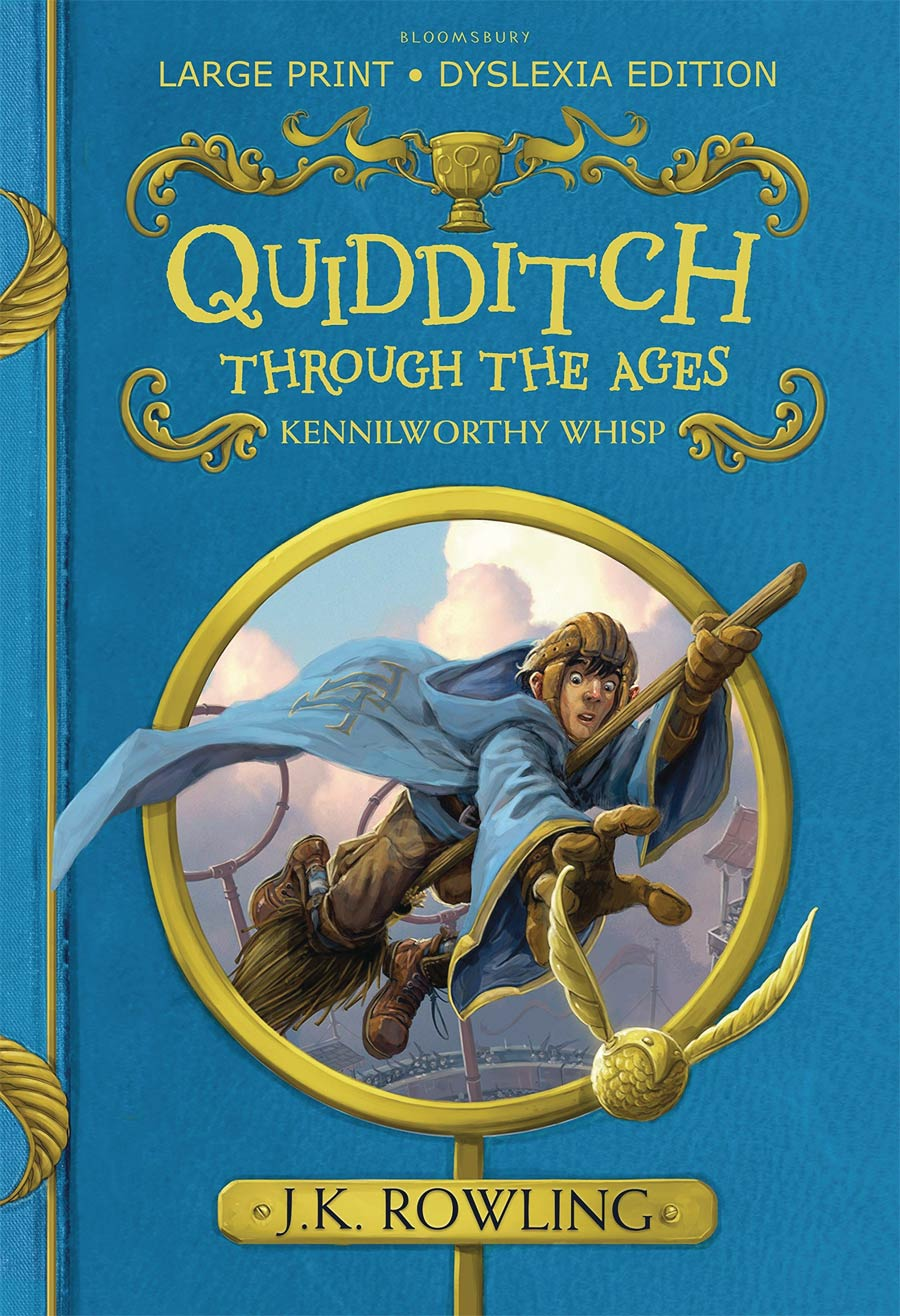 Quidditch Through The Ages Illustrated Edition HC