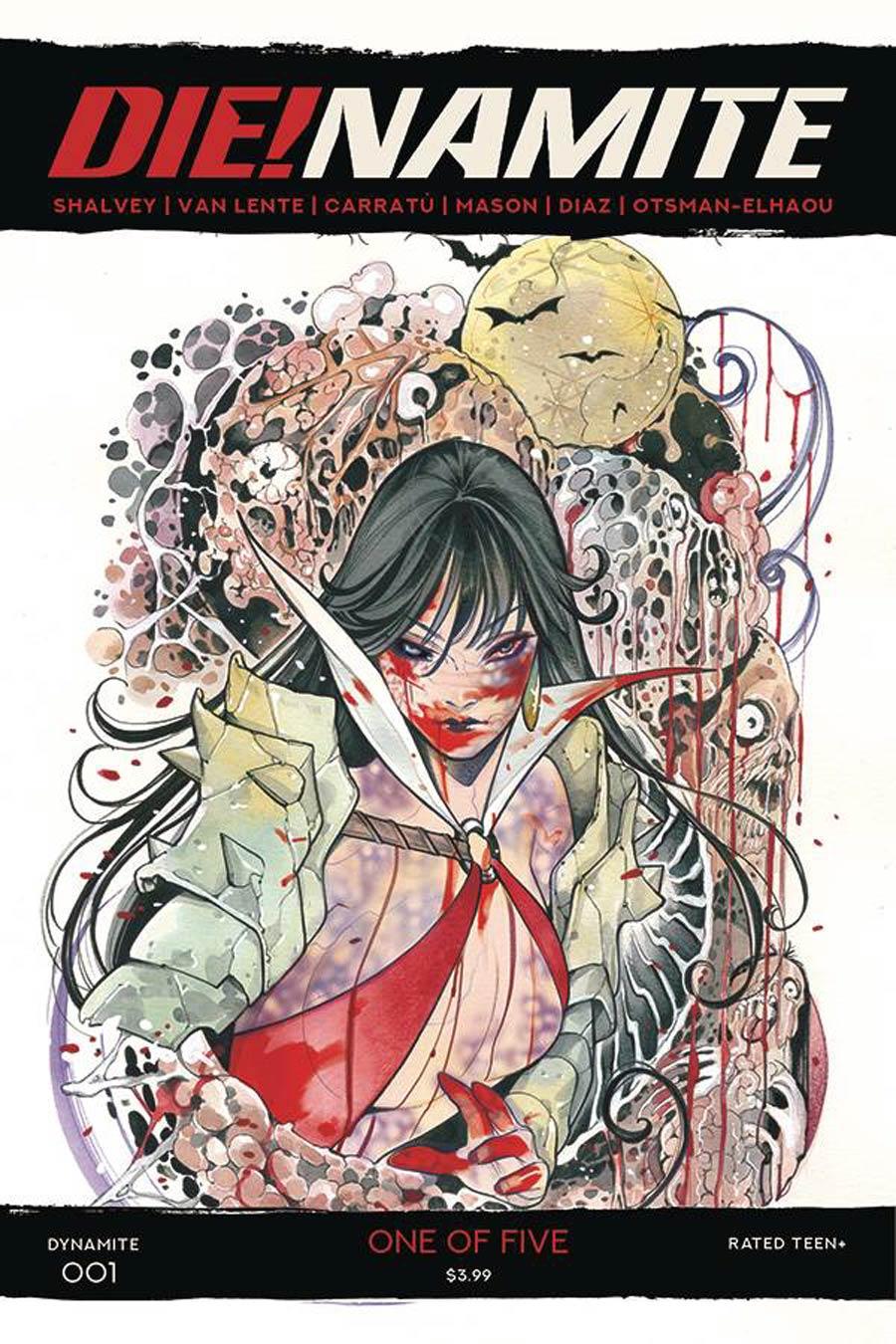 DieNamite #1 Cover F Incentive Peach Momoko Vampirella Zombie Variant Cover