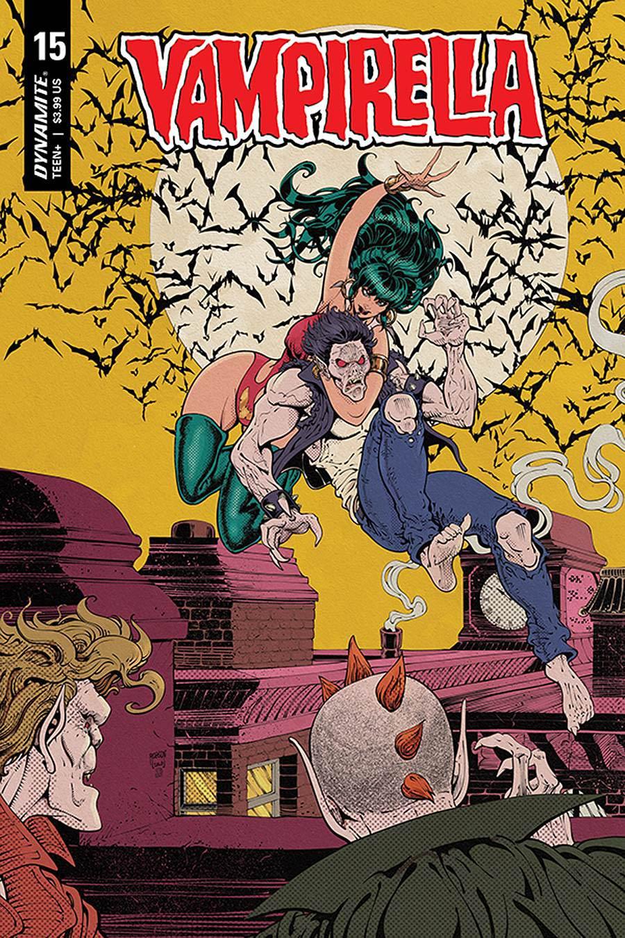 Vampirella Vol 8 #15 Cover I Incentive Will Robson Classic Batman Homage Variant Cover