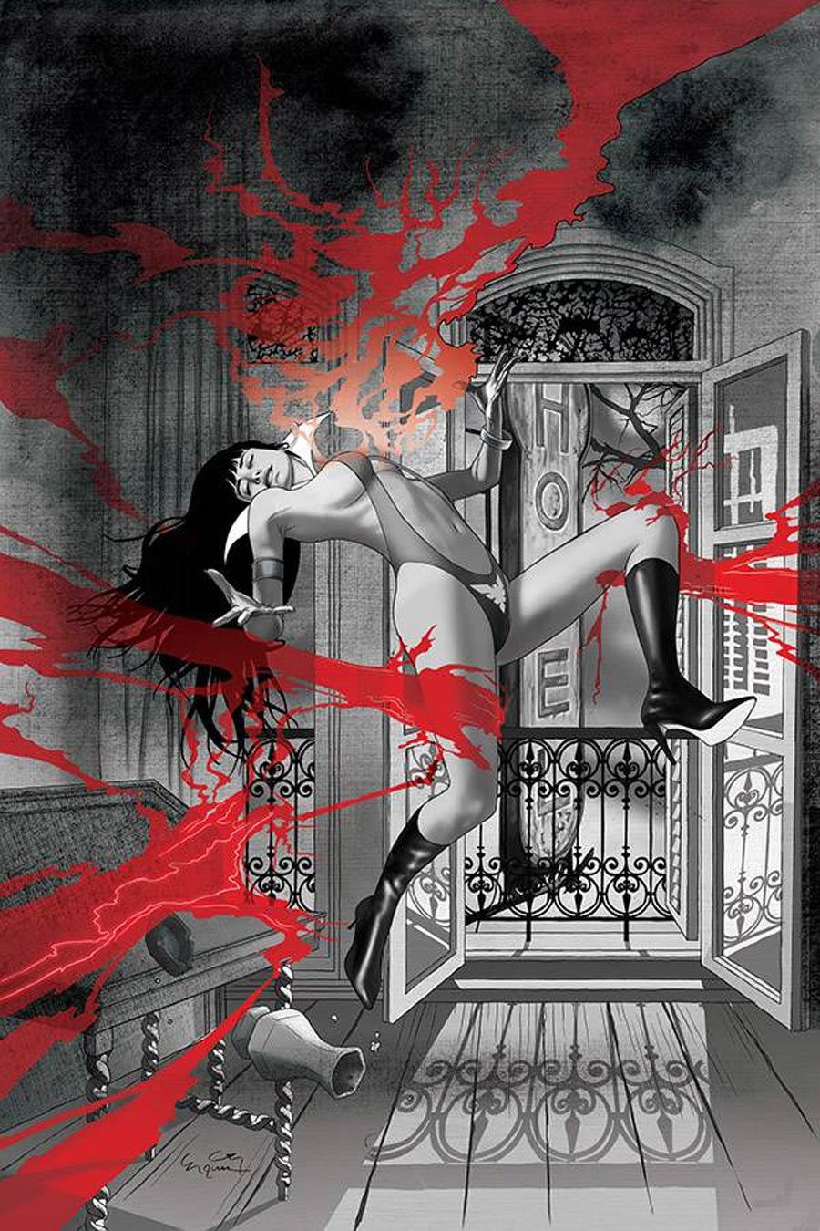 Vampirella Vol 8 #15 Cover R Incentive Ergun Gunduz Virgin Cover