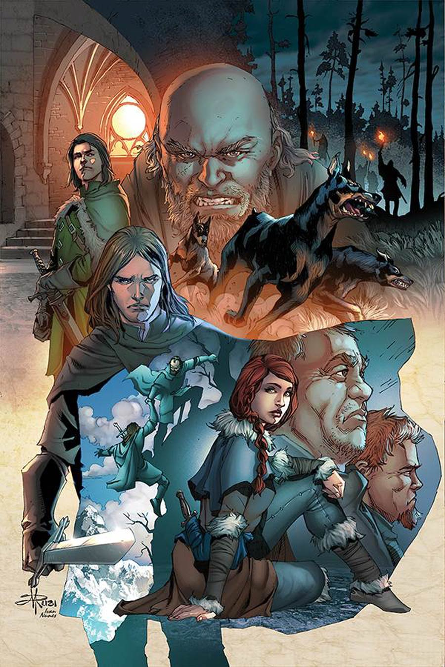 Game Of Thrones Clash Of Kings Vol 2 #8 Cover C Incentive Mel Rubi Virgin Cover