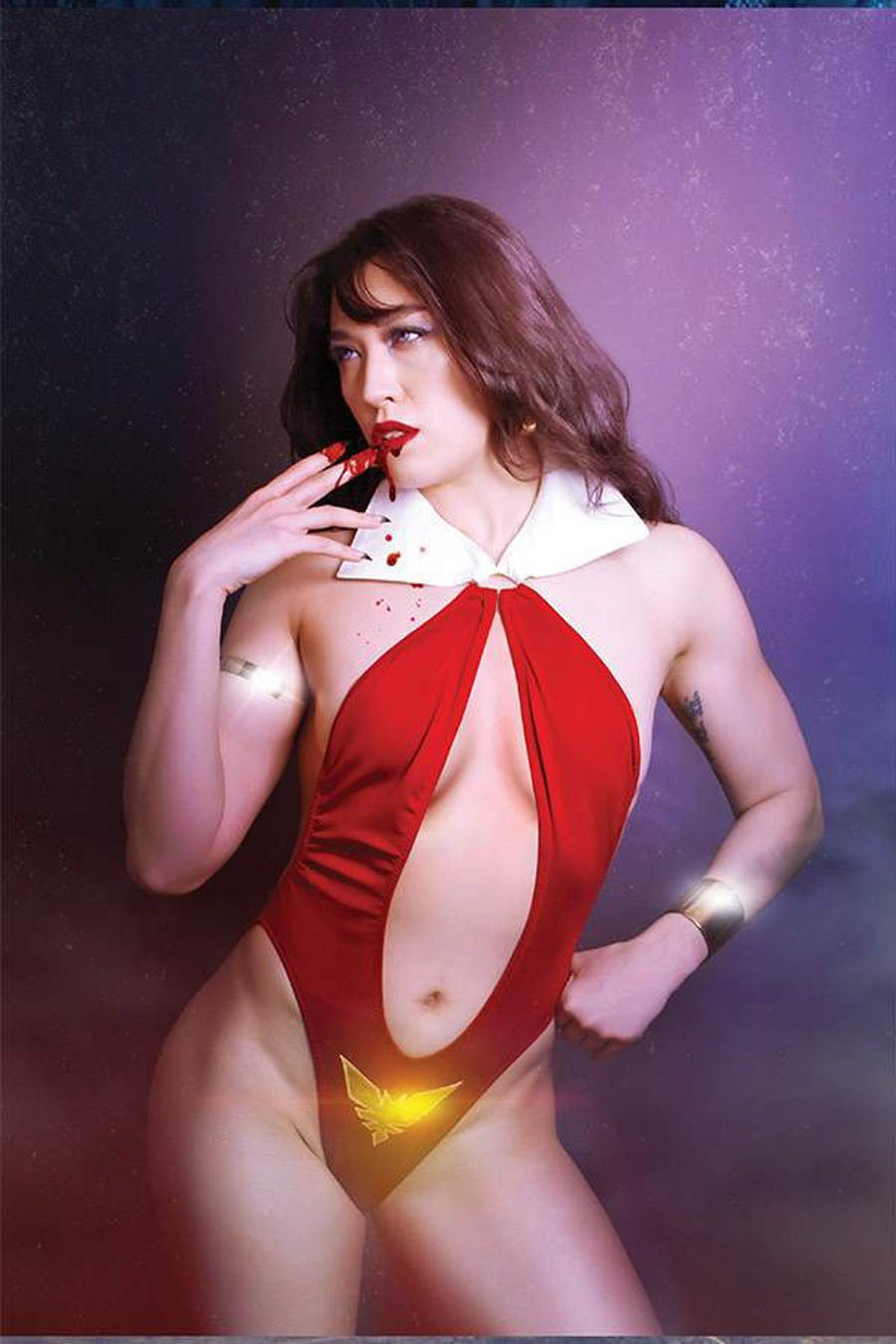 Vengeance Of Vampirella Vol 2 #11 Cover I Incentive Krista Lee Cosplay Photo Virgin Cover