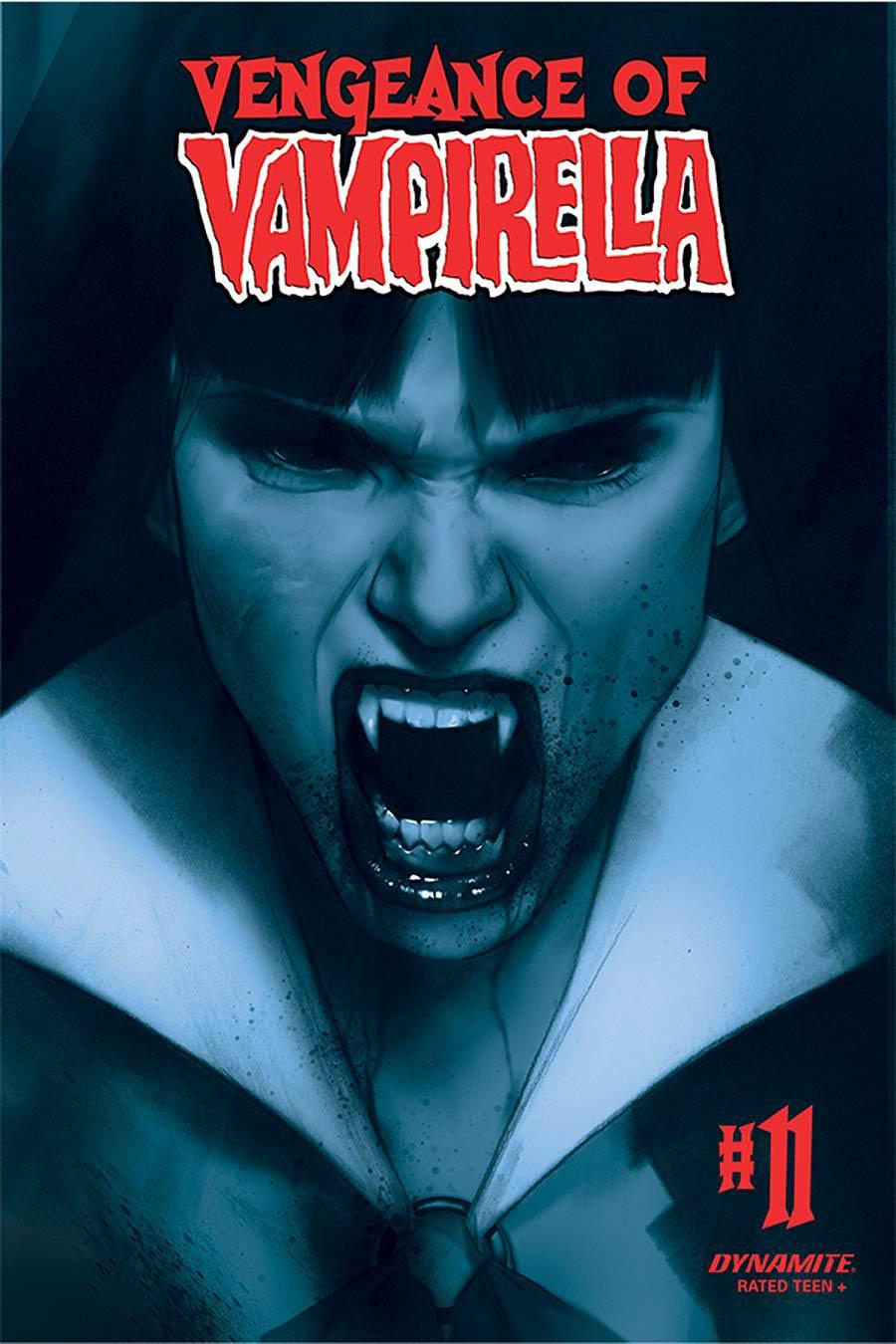 Vengeance Of Vampirella Vol 2 #11 Cover O Incentive Ben Oliver Tint Cover