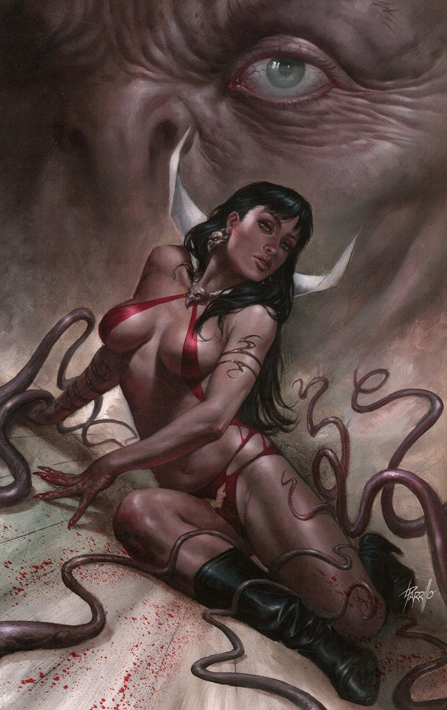 Vampirella Vol 8 #15 Cover V Limited Edition Lucio Parrillo Virgin Cover