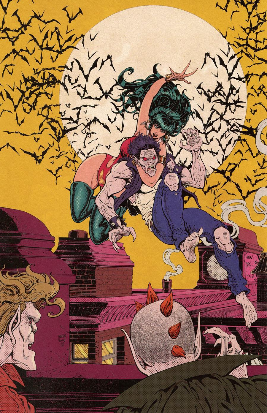 Vampirella Vol 8 #15 Cover X Limited Edition Will Robson Classic Batman Homage Virgin Cover