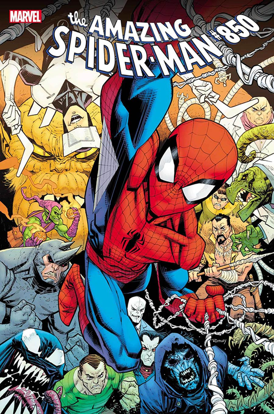 Amazing Spider-Man Vol 5 #850 Cover S DF Signed By Nick Spencer (#49)