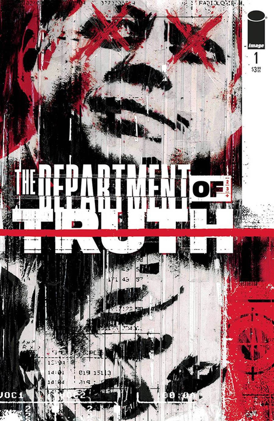 Department Of Truth #1 Cover G DF Signed By James Tynion IV