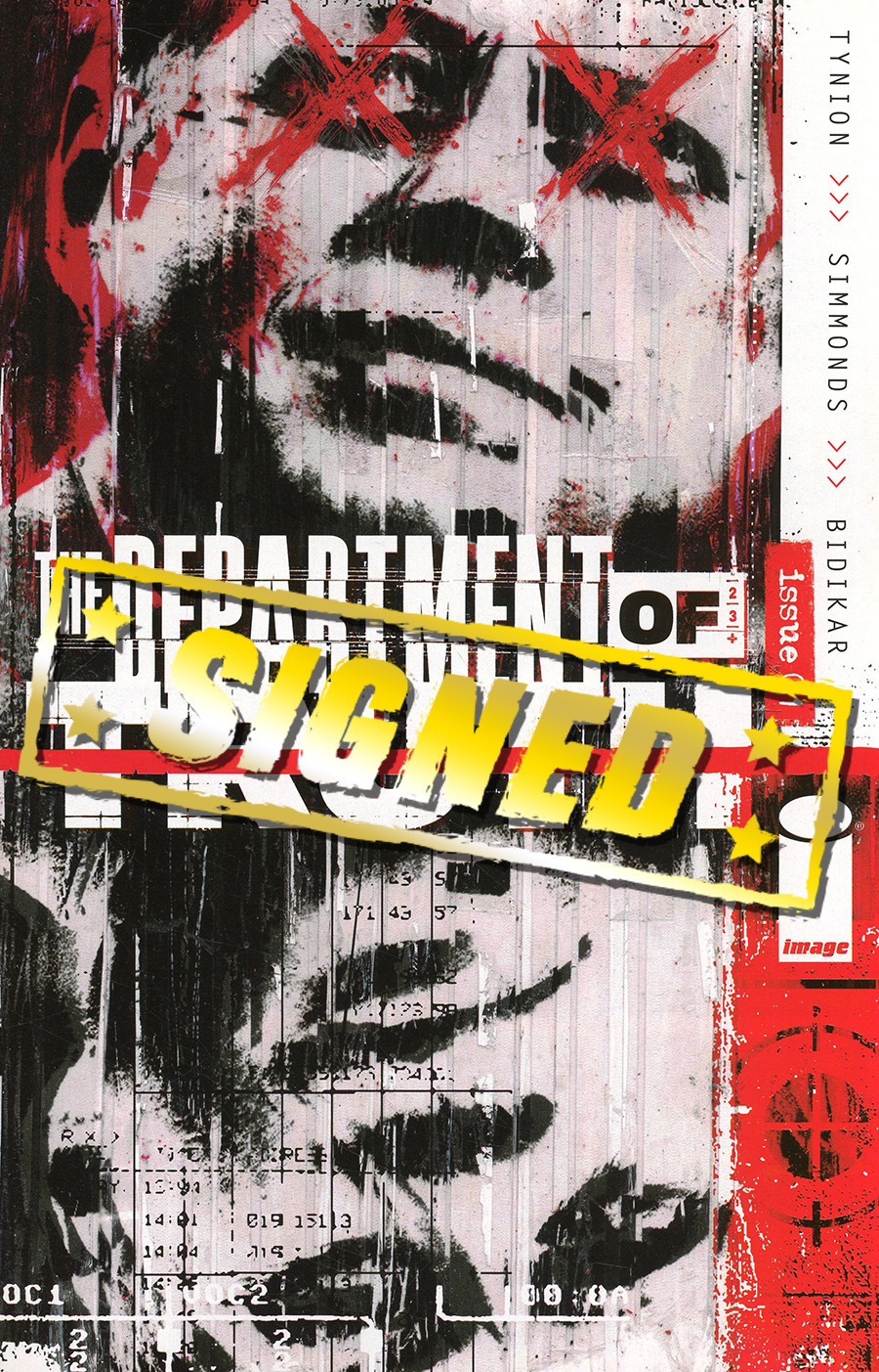 Department Of Truth #1 DF Signed By James Tynion IV Plus 1