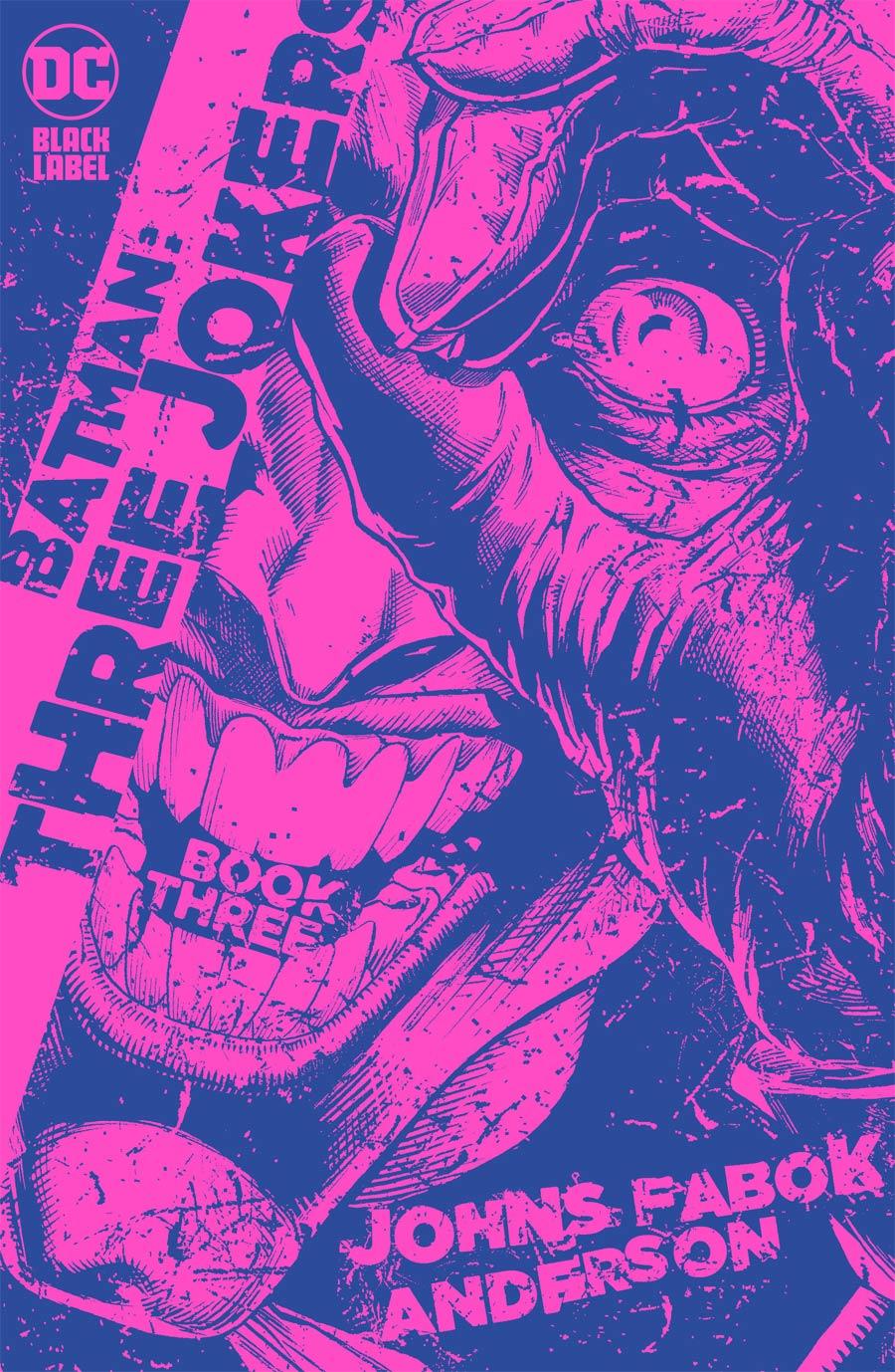 Batman Three Jokers #3 Cover C Incentive Jason Fabok Purple Variant Cover
