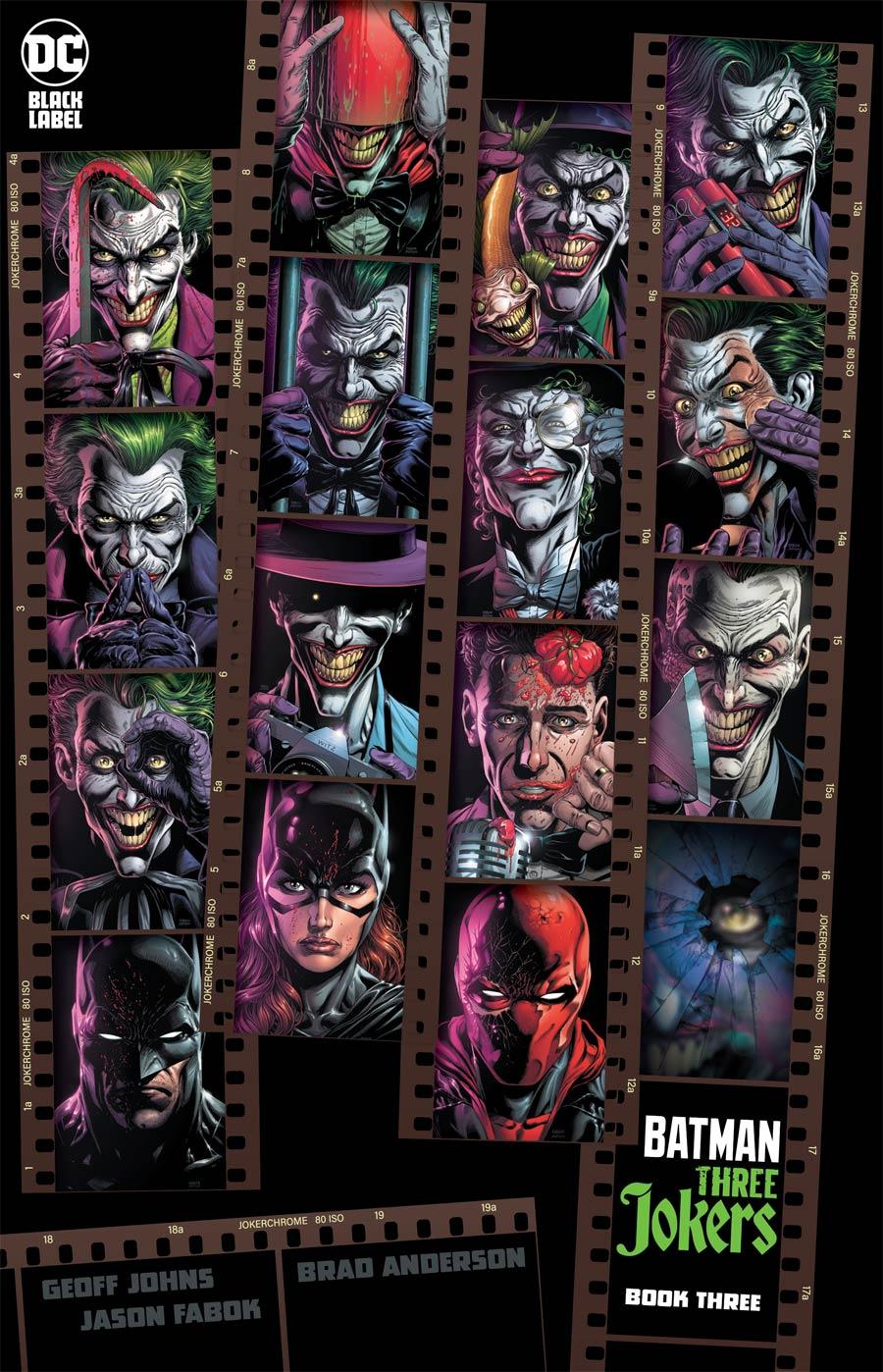Batman Three Jokers #3 Premium Variant J Incentive Contact Cover
