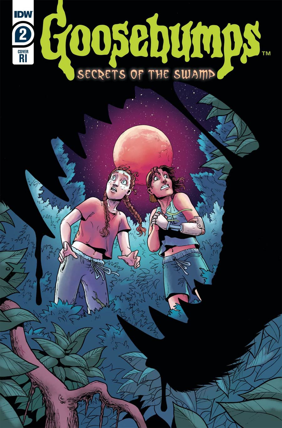 Goosebumps Secrets Of The Swamp #2 Cover B Incentive Clara Meath Variant Cover