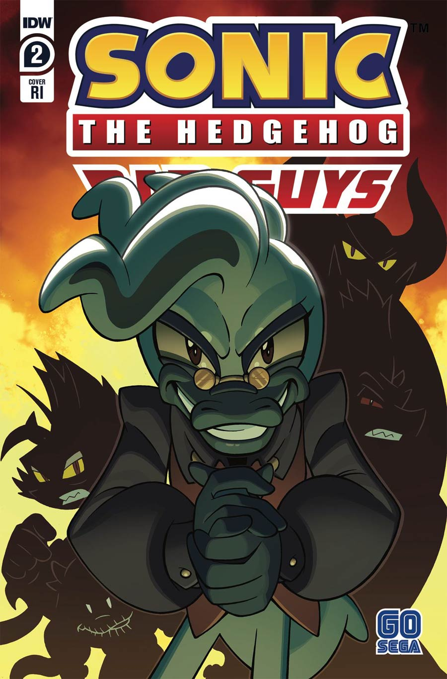 Sonic The Hedgehog Bad Guys #2 Cover C Incentive Jack Lawrence Variant Cover
