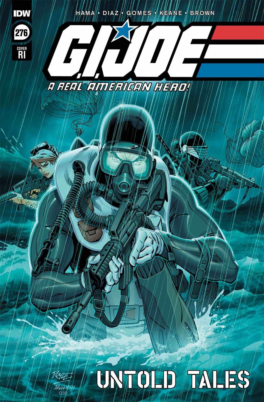 GI Joe A Real American Hero #276 Cover C Incentive John Royle Variant Cover