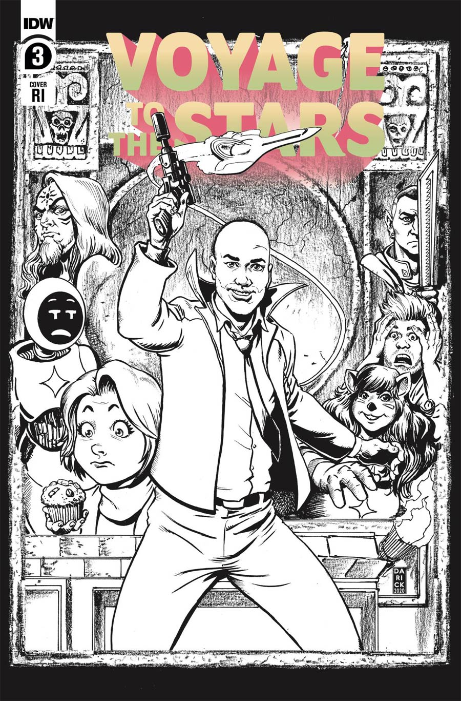 Voyage To The Stars #3 Cover C Incentive Darick Robertson Variant Cover
