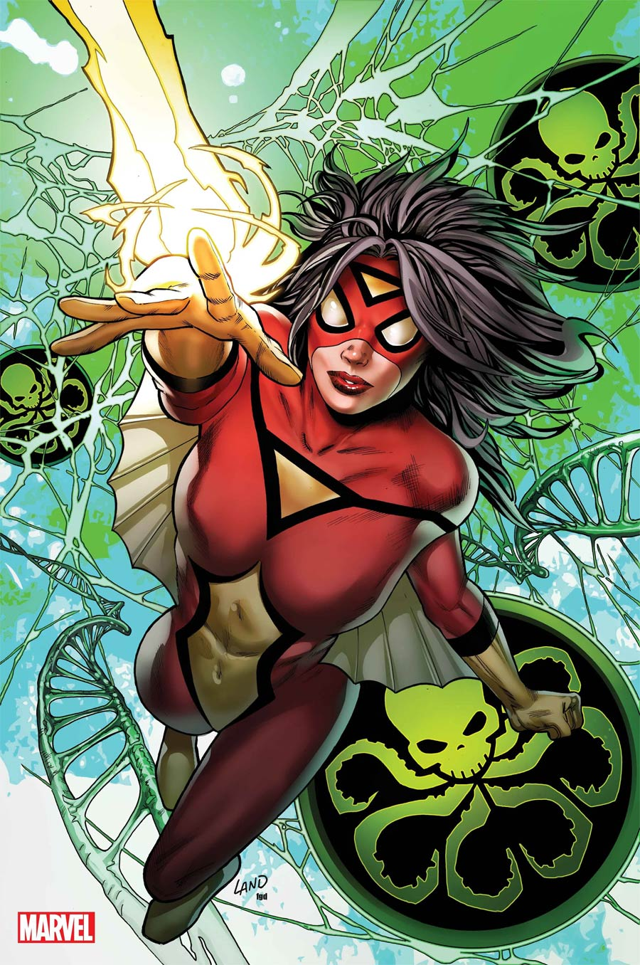 Spider-Woman Vol 7 #5 Cover I Incentive Greg Land Virgin Cover (#100)