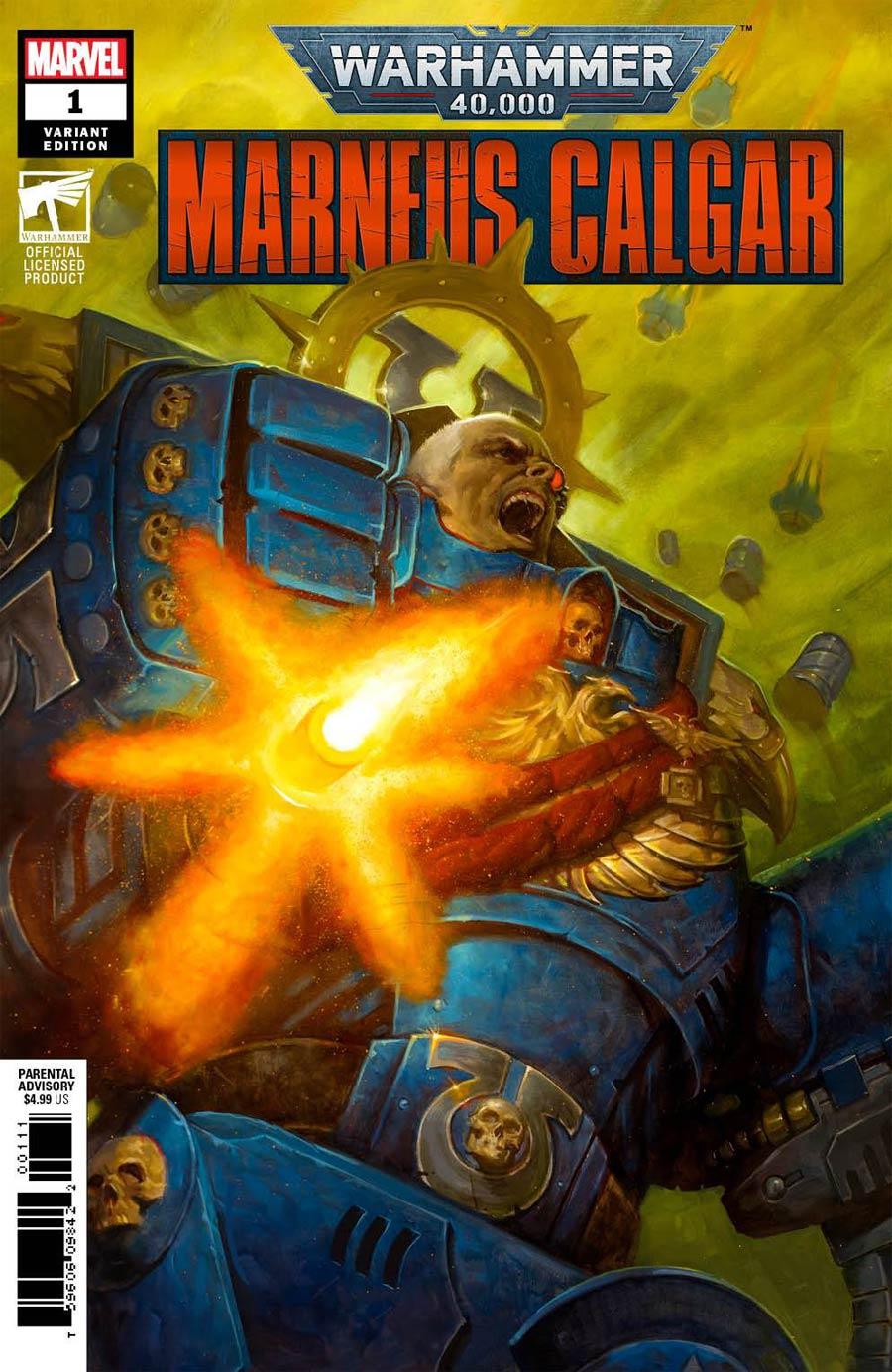 Warhammer 40000 Marneus Calgar #1 Cover D Incentive EM Gist Variant Cover
