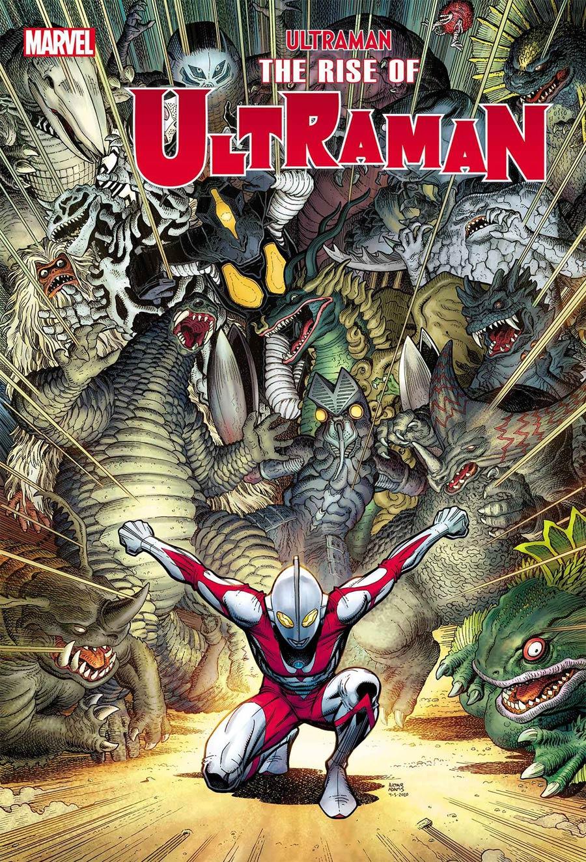 Ultraman Rise Of Ultraman #2 Cover D Incentive Arthur Adams Variant Cover