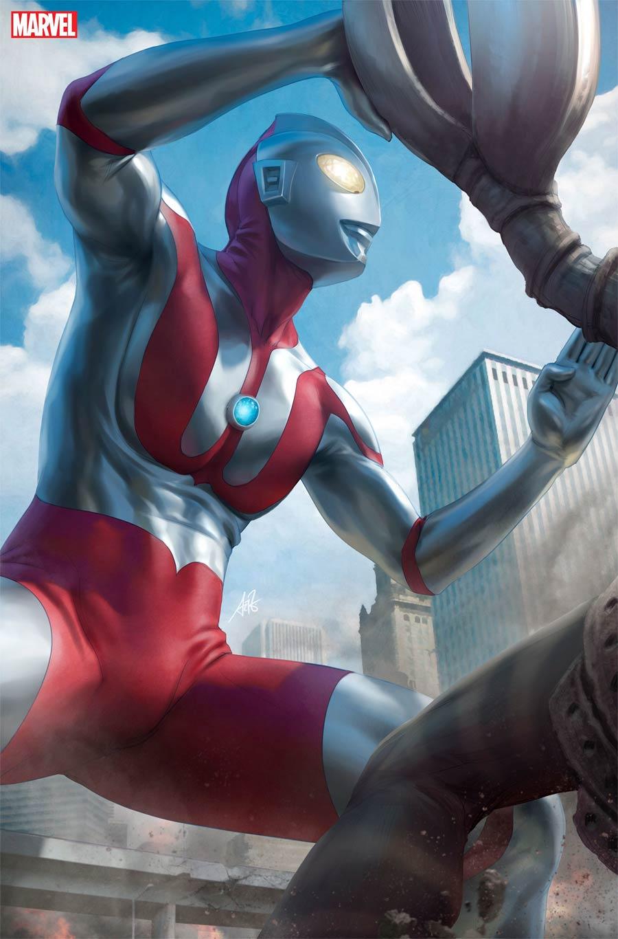 Ultraman Rise Of Ultraman #2 Cover E Incentive Stanley Artgerm Lau Virgin Cover