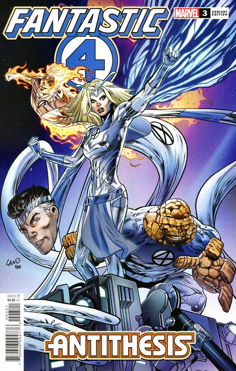 Fantastic Four Antithesis #3 Cover C Incentive Greg Land Variant Cover
