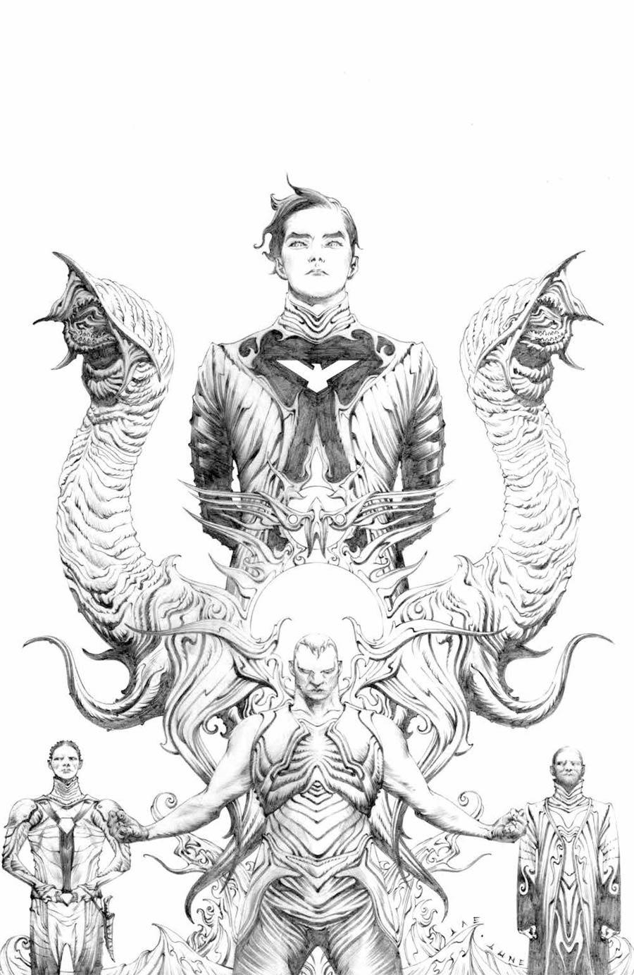 Dune House Atreides #1 Cover E Incentive Jae Lee Variant Cover