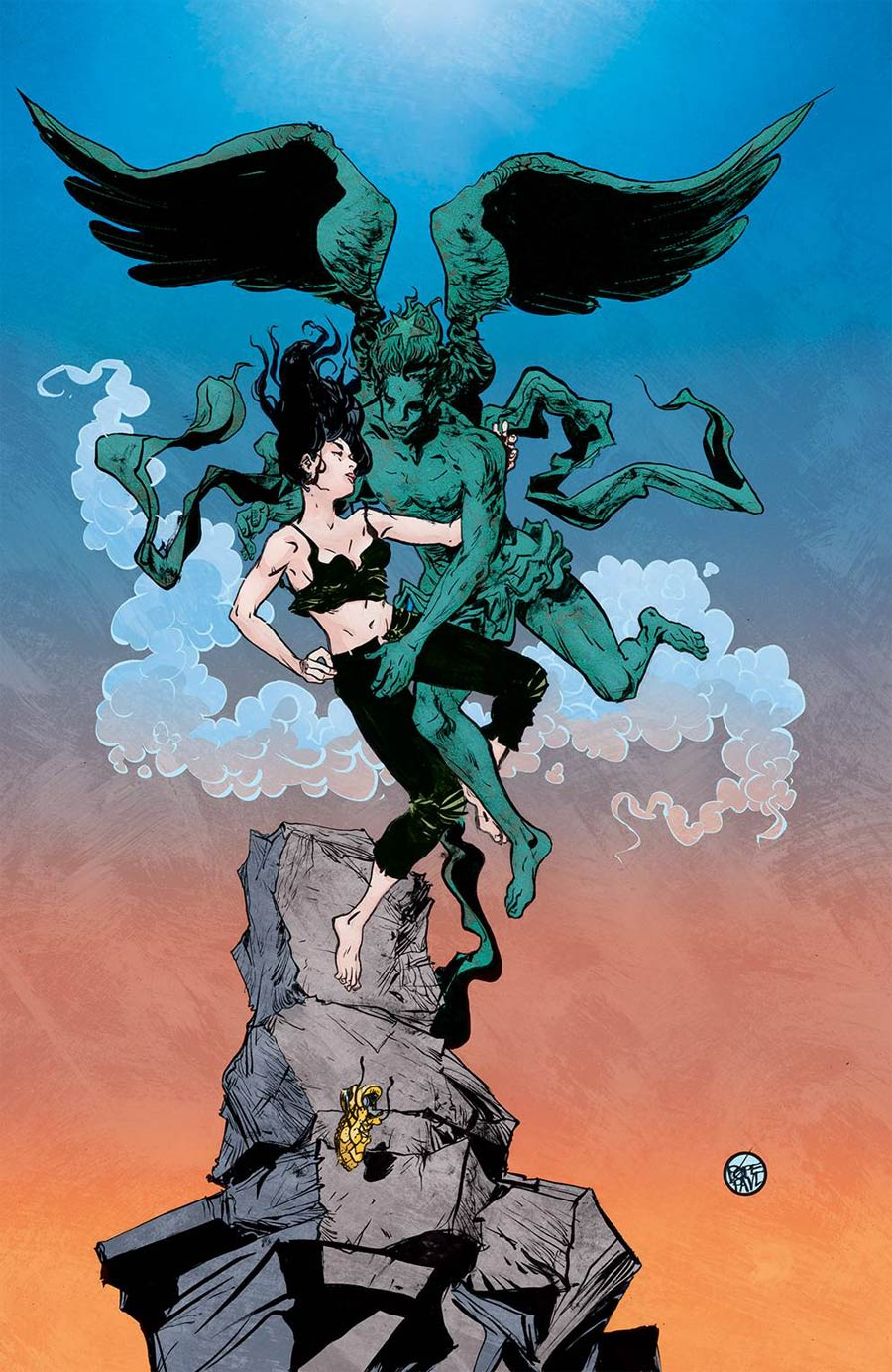 Faithless II #5 Cover C Incentive Paul Pope Variant Cover