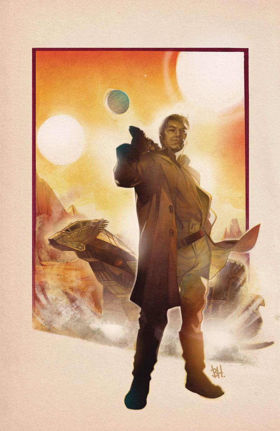 Firefly #21 Cover C Incentive Ben Harvey Variant Cover