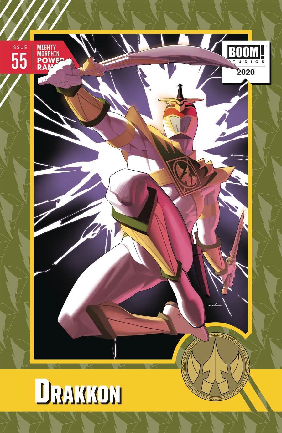 Mighty Morphin Power Rangers (BOOM Studios) #55 Cover C Incentive Kris Anka Variant Cover