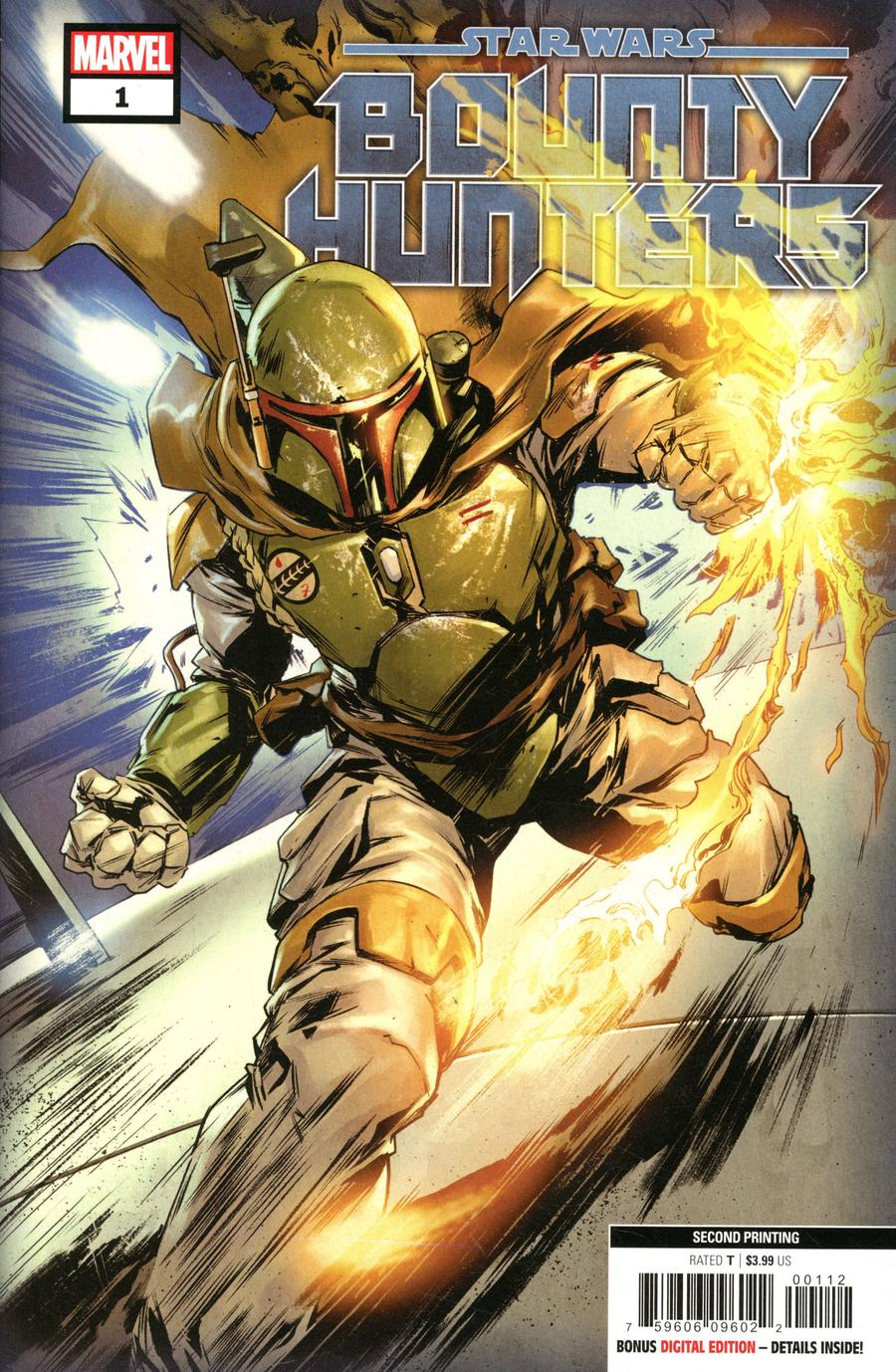 Star Wars Bounty Hunters #1 Cover H 2nd Ptg Variant Cover