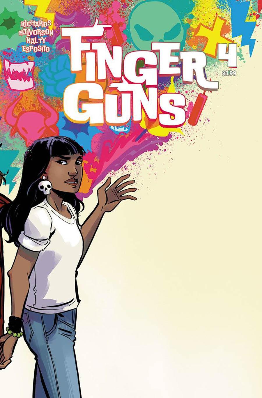 Finger Guns #4 Cover B Variant Jen Hickman Cover