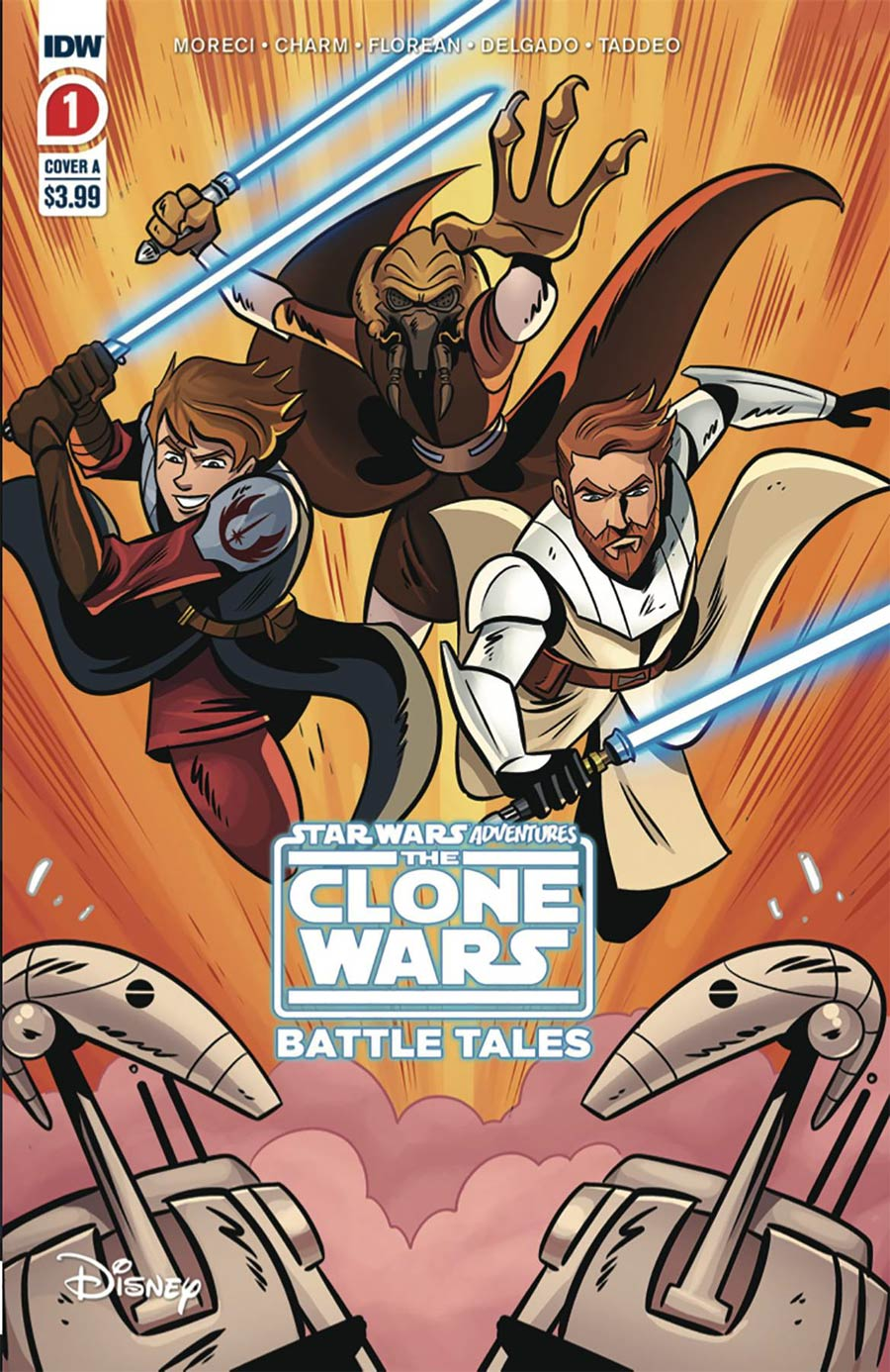 Star Wars Adventures Clone Wars Battle Tales #1 Cover E 2nd Ptg