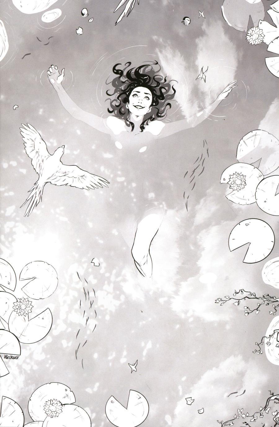 Dejah Thoris Vol 3 #7 Cover J Incentive Vasco Georgiev Black & White Virgin Cover