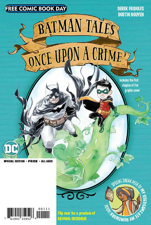 Batman Overdrive / Batman Tales Once Upon A Crime Flipbook FCBD 2020