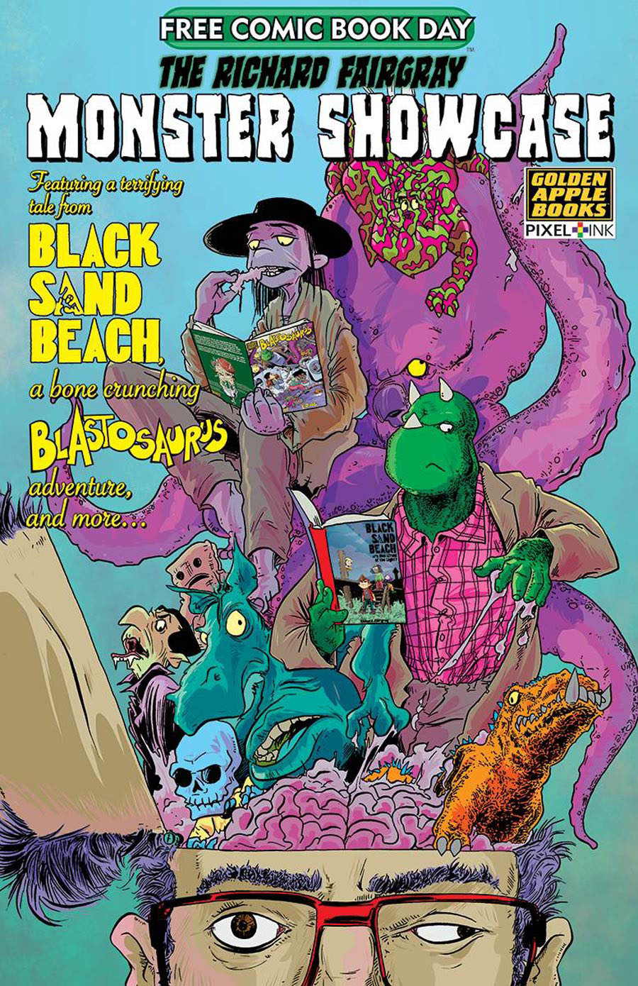 Richard Fairgray Monster Showcase FCBD 2020