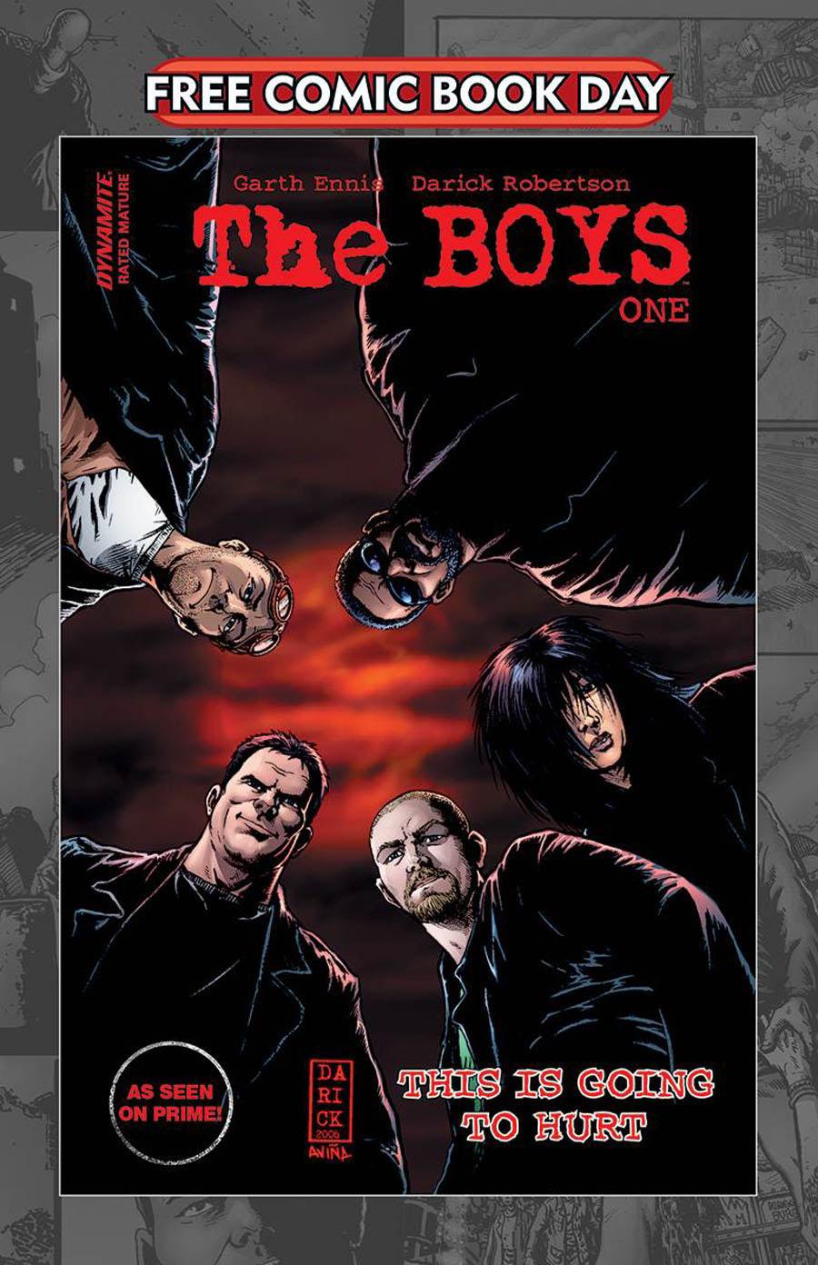 Boys #1 Cover D FCBD 2020