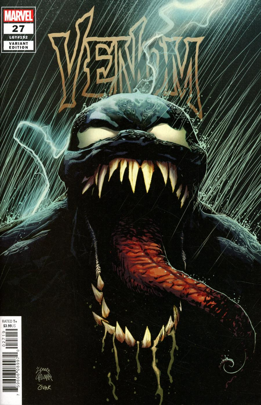 Venom Vol 4 #27 Cover B Variant Ryan Stegman Cover