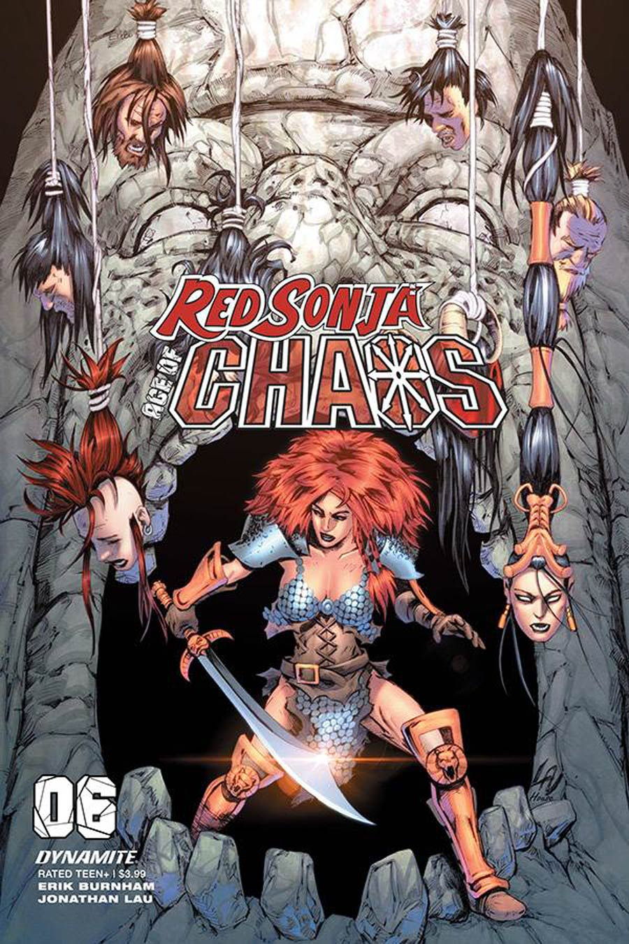 Red Sonja Age Of Chaos #6 Cover F Variant Jonathan Lau Cover