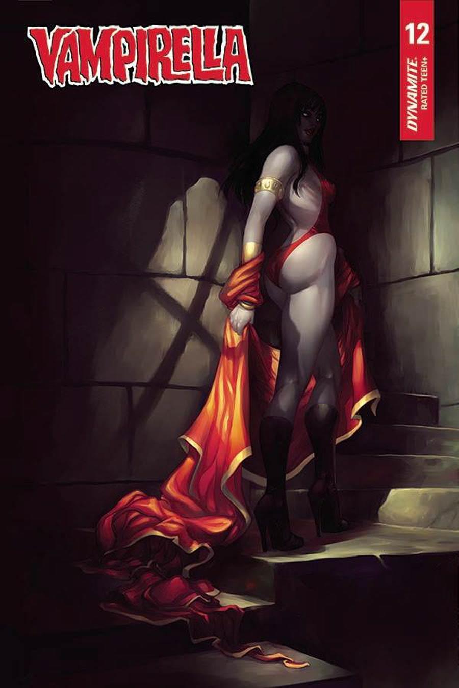 Vampirella Vol 8 #12 Cover G Variant Meghan Hetrick Cover