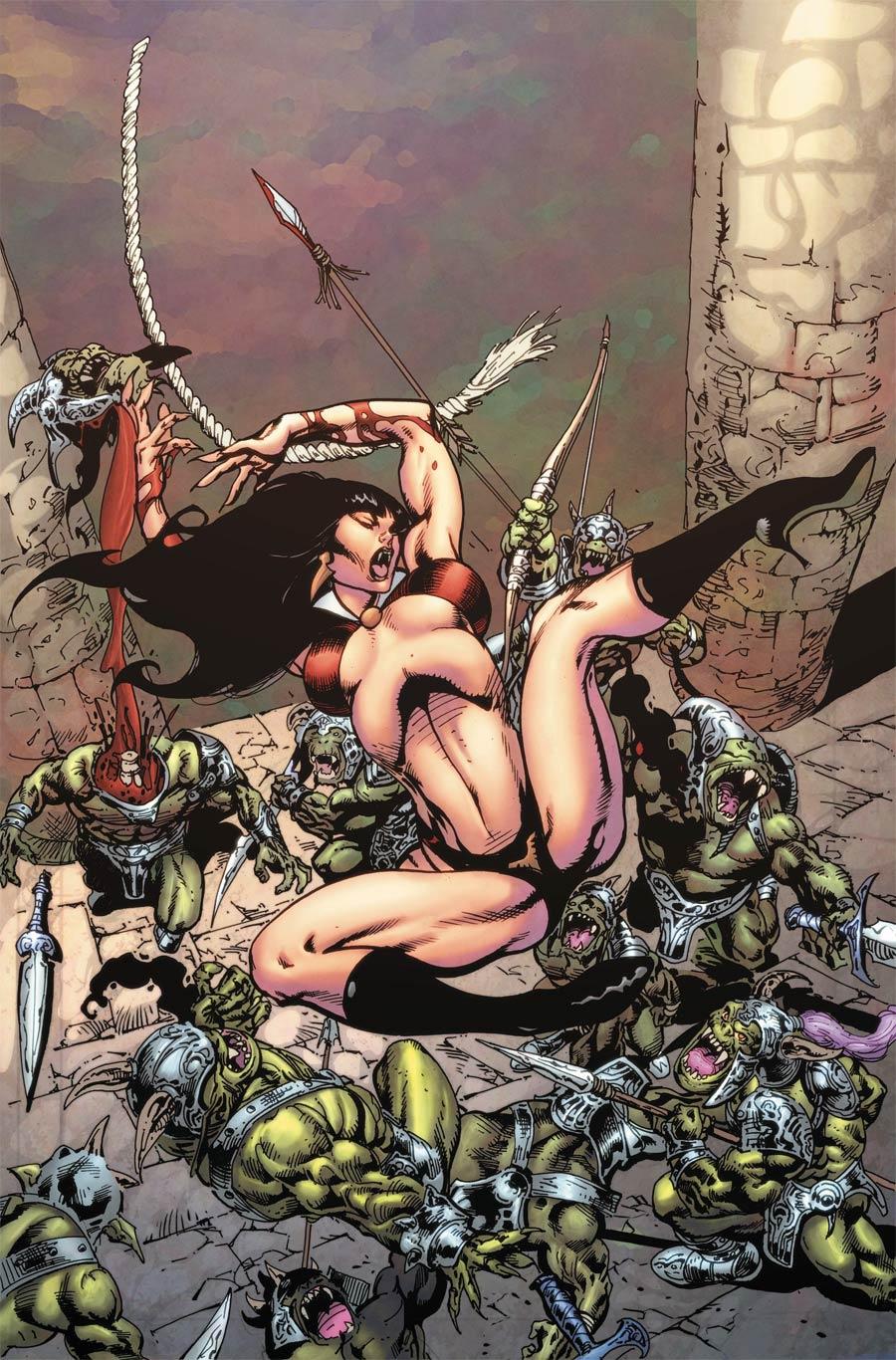Vampirella Vol 8 #12 Cover H Incentive Roberto Castro Virgin Cover