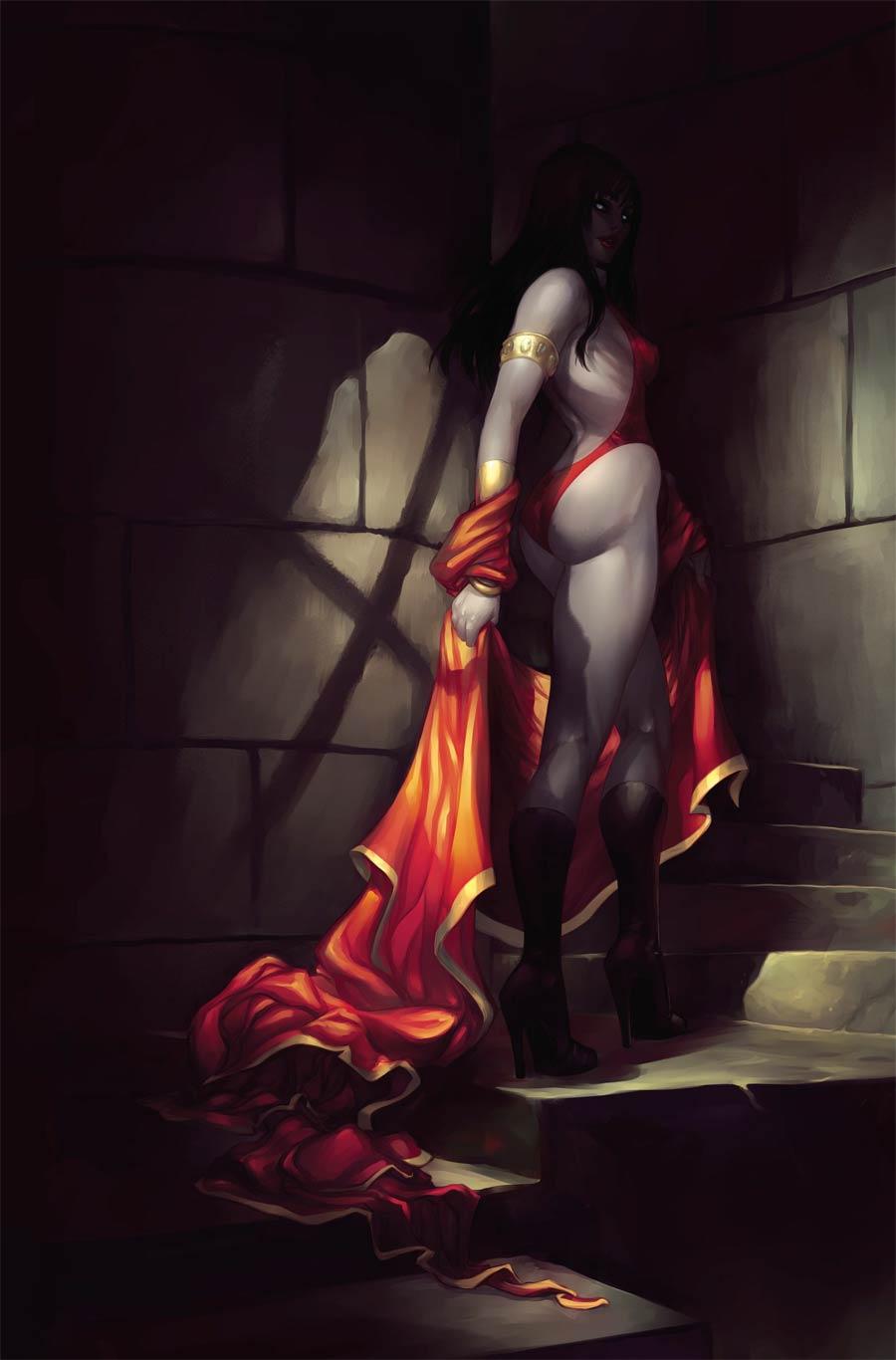 Vampirella Vol 8 #12 Cover K Incentive Meghan Hetrick Virgin Cover